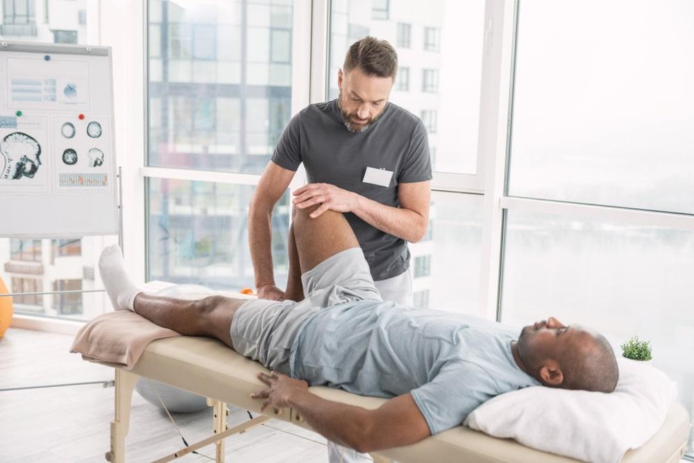 Darstellung einer Sportphysiotherapie in Bremen