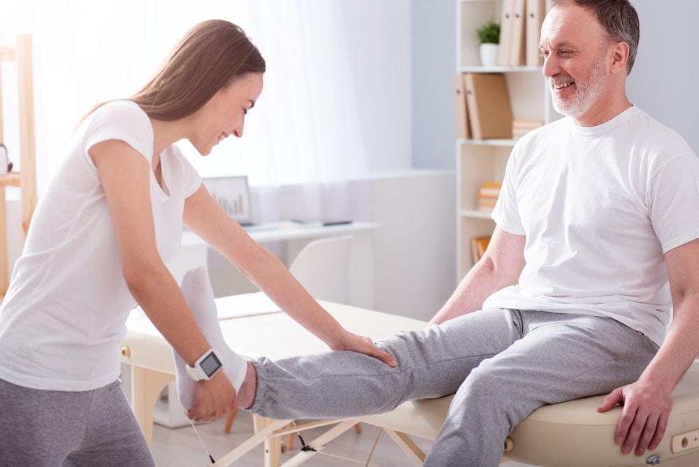 Bildliche Darstellung einer Physiotherapie in Bremen